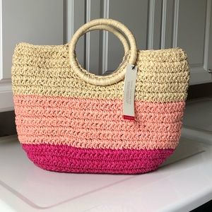 TALBOTS STRAW BAG